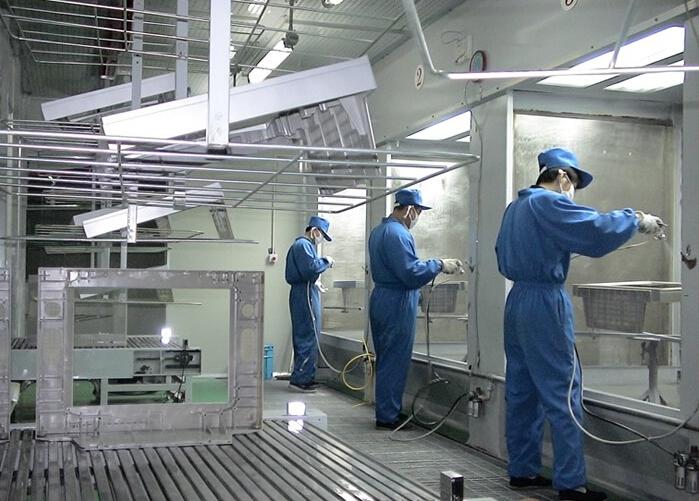 粉末静电喷涂工艺技术介绍及操作流程